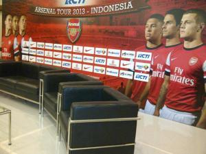 rcti Arsenal tour